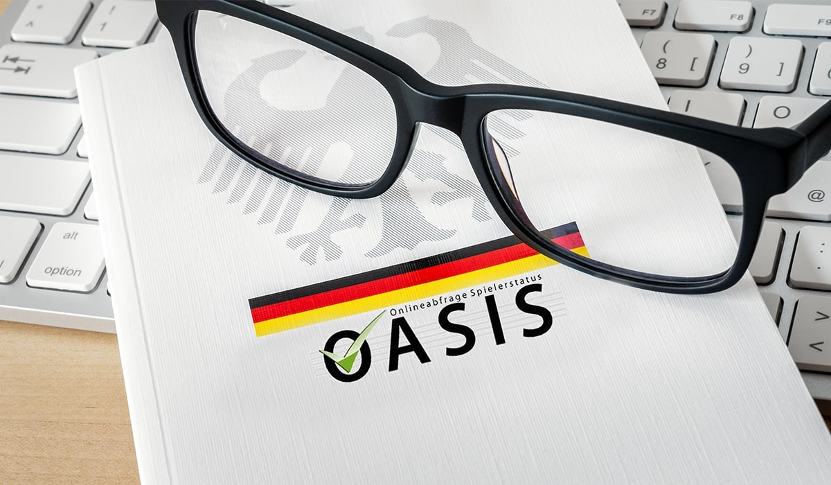 Deutsche OASIS Spielersperre Banner