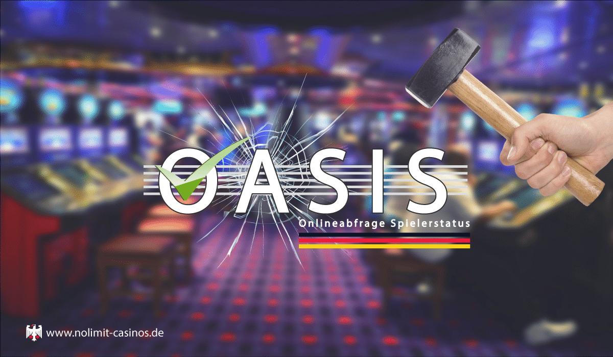 OASIS Spielersperre Aufheben